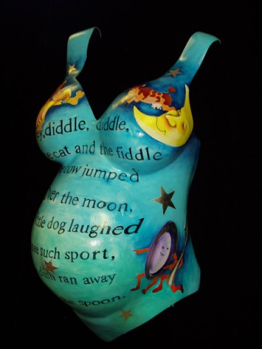 Fun Nursery Rhyme in Belly Cast